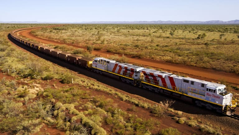 Rio Tinto just made the world's first fully automated iron ore delivery.
