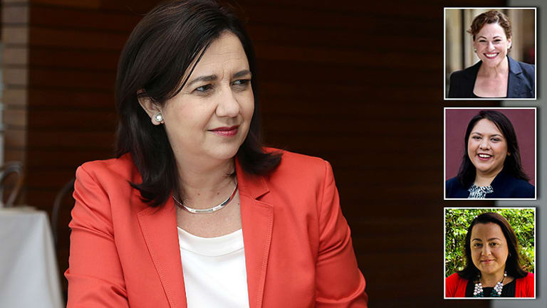 Premier Annastacia Palaszczuk, Deputy Premier Jackie Trad, Labor state secretary Julie-Ann Campbell and assistant state secretary Sarah Mawhinney are some of the leaders in Queensland politics.