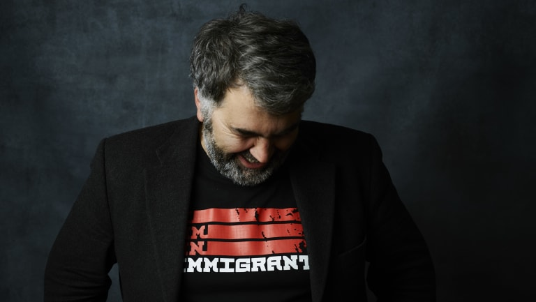 """""""I have no interest in being a 'real man',"""" Karapanagiotidis writes in his new book, The Power of Hope. """"I just want to be a kind and decent one."""""""