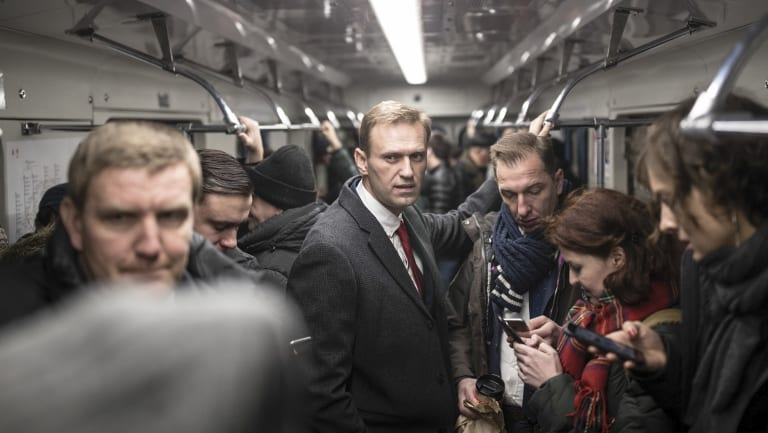 Russian opposition leader Alexei Navalny.