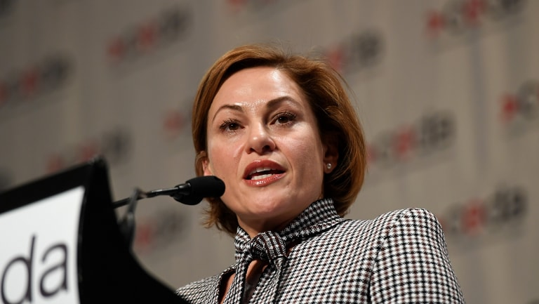 Treasurer Jackie Trad says the state's debt bill will be stable and unsustainable.