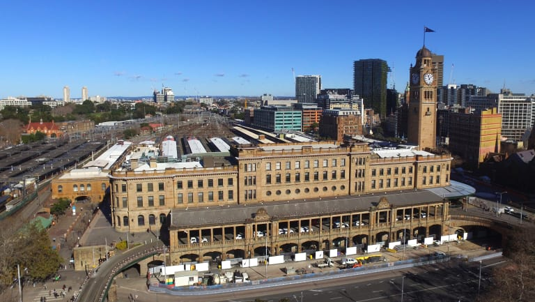 Sydney's Central Station is set to undergo a major revamp.