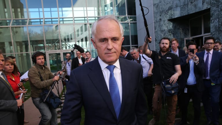 Malcolm Turnbull hoist with his own 30 Newspoll petard