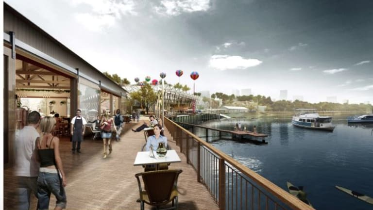 Howard Smith Wharves as it will appear in September 2018.