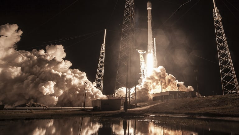 SpaceX launches secret mission code named Zuma.