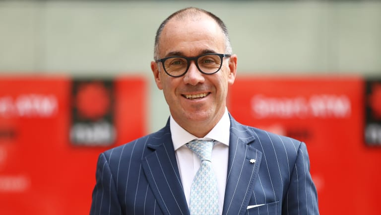 NAB chief executive has warned banks could become more timid.