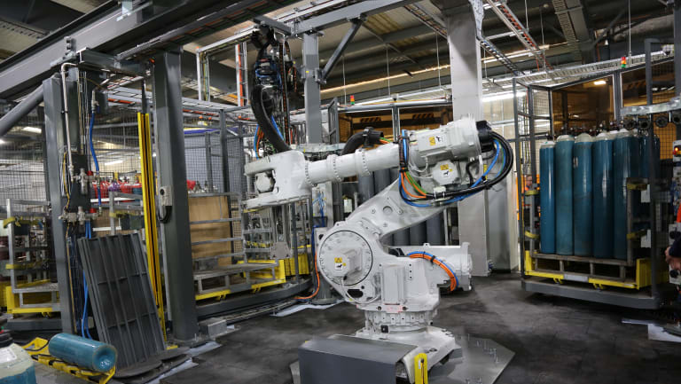 BOC is considering investing in automated robotic systems at its Brisbane and Melbourne plants.