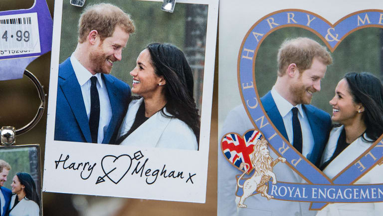 Harry and Meghan souvenirs.