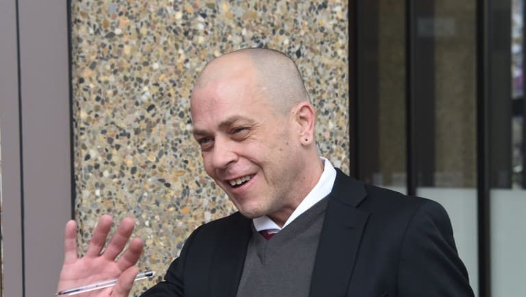 David Renshaw at court in June 2017.