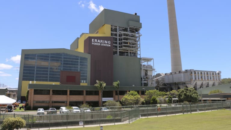 NSW-based Eraring, owned by Energy Australia, is the country's largest coal-fired power station.