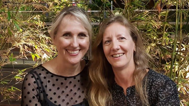 Adrienne and Carol.