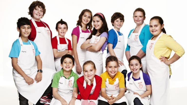 Junior MasterChef's contestants had to sign iron-clad contracts before filming.