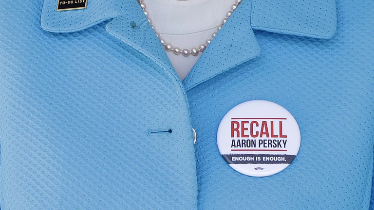 Stanford law professor Michele Dauber led the campaign to recall Judge Aaron Persky.