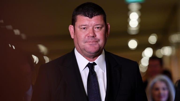 Purge: James Packer sacked himself this week.