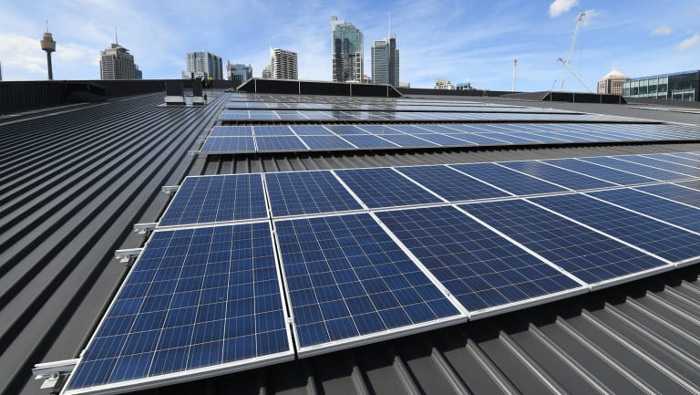 Solar panels are increasingly becoming a norm for residential and commercial buildings.