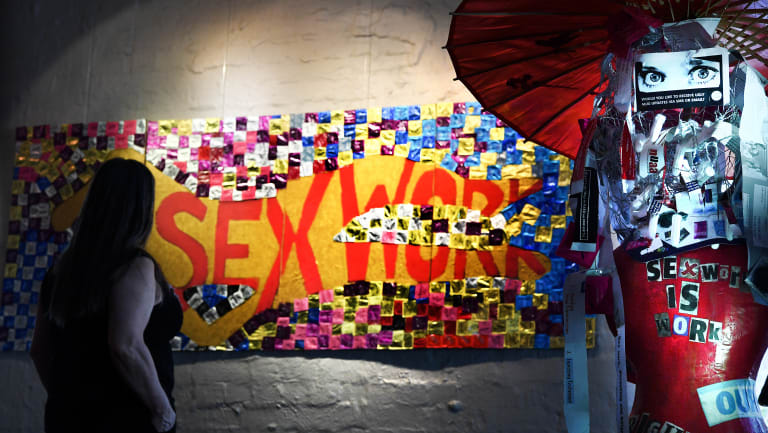 Gasworks in Albert Park is exhibiting artworks by sex workers to highlight International Sex Worker Rights Day.