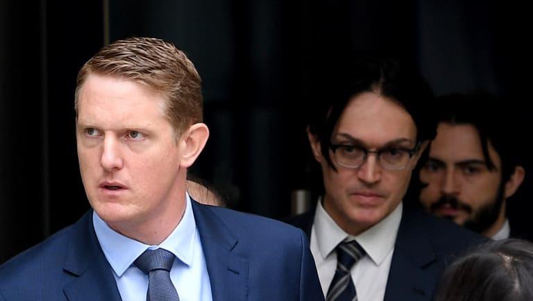 CBA executive Daniel Huggins (left)