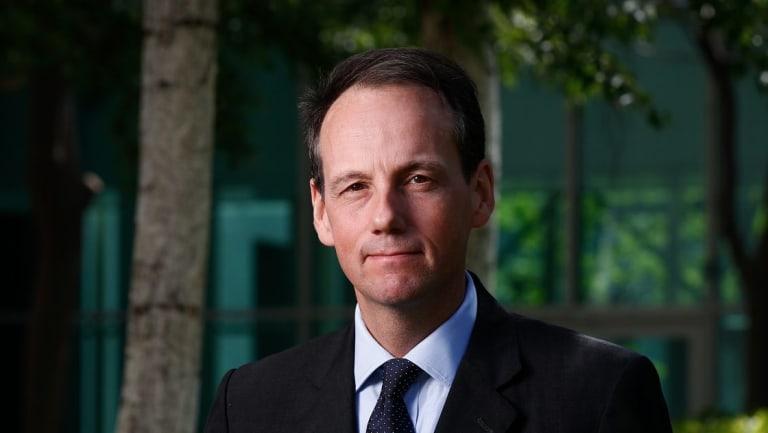 James Shipton was previously an executive director at the Hong Kong financial regulator.