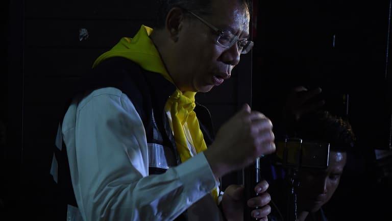Rescue commander Narongsak Osatanakorn.