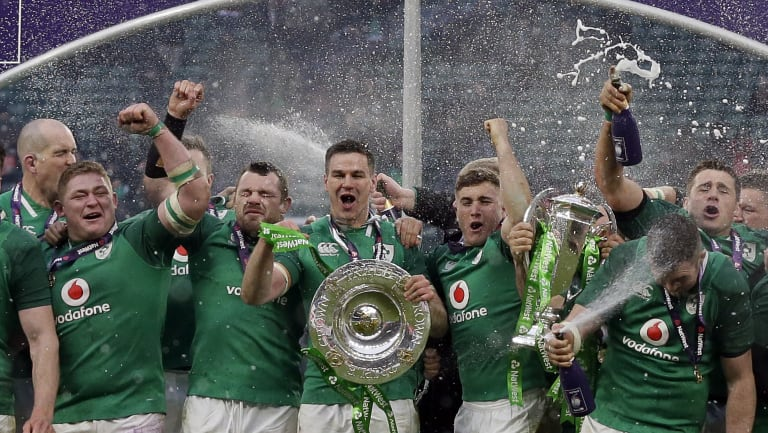 Grand Slam: Ireland are ranked second in the world ahead of their June tour to Australia.