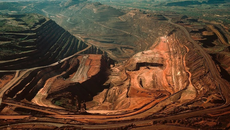 Shares in BHP hit a 31-month high on Friday.