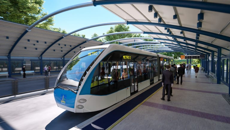 Brisbane City Council's Brisbane Metro has been identified as the mayors' top infrastructure priority.