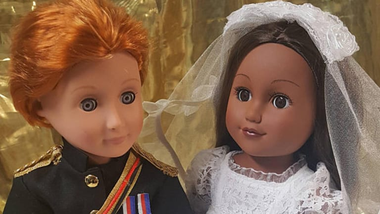 Royal Wedding Souvenirs:  Prince Harry and Meghan Markle.