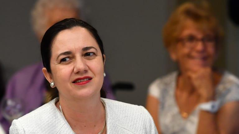 Premier Annastacia Palaszczuk wants to veto the almost $1 billion concessional loan to the Adani Carmichael mine.