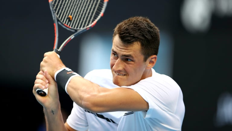 Bernard Tomic has continued his good form on clay.