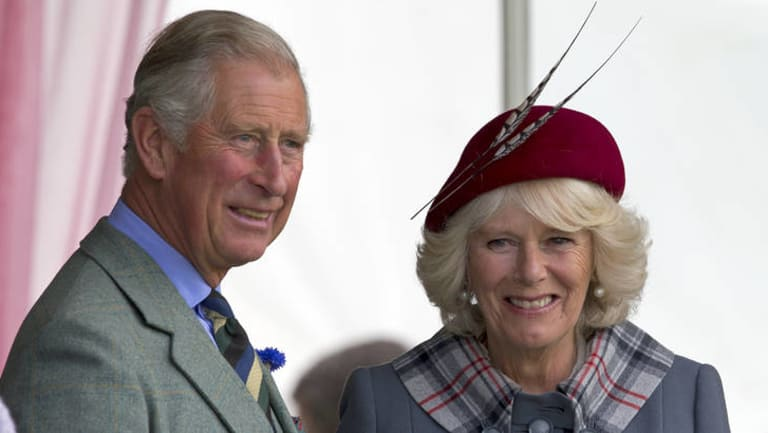 Prince Charles and Camilla, Duchess of Cornwall.