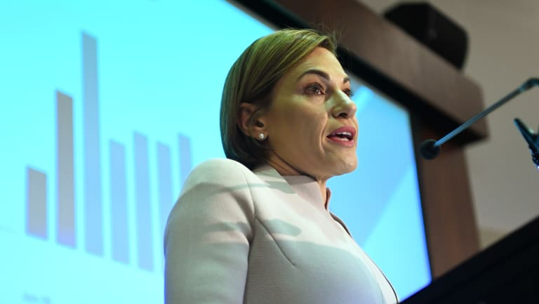 Queensland Treasurer Jackie Trad says SPER has lifted its  debt finalisation rate and slowed the growth of unpaid debt.