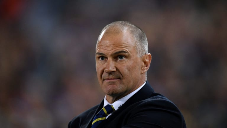 Outside the box: Brad Arthur has picked the brain of Sydney Swans counterpart John Longmire.