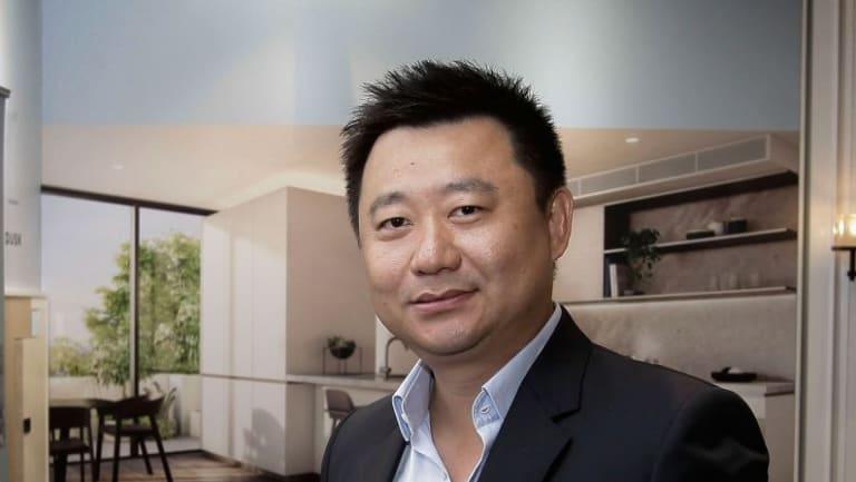 Jeff Xu, CEO of property development company Golden Age.