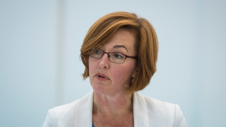 ACT Health Minister Meegan Fitzharris: the ACT will ban gay conversion therapy.