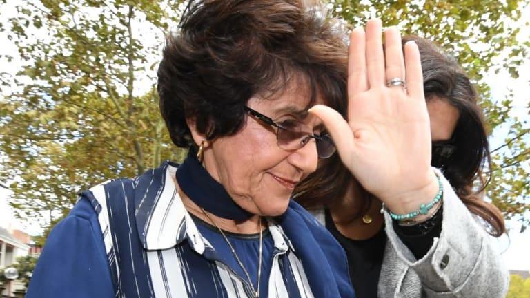Eddie Obeid's wife Judith leaves the Supreme Court last year.