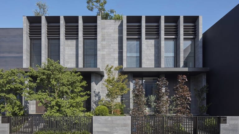 Inarc Architects' new townhouses in Fitzroy, Melbourne.