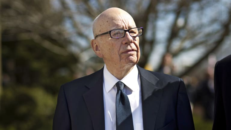 Rupert Murdoch's News Corp will take aim at Google and Facebook