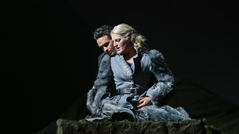 Carlos Barcenas and Gisela Stille.
