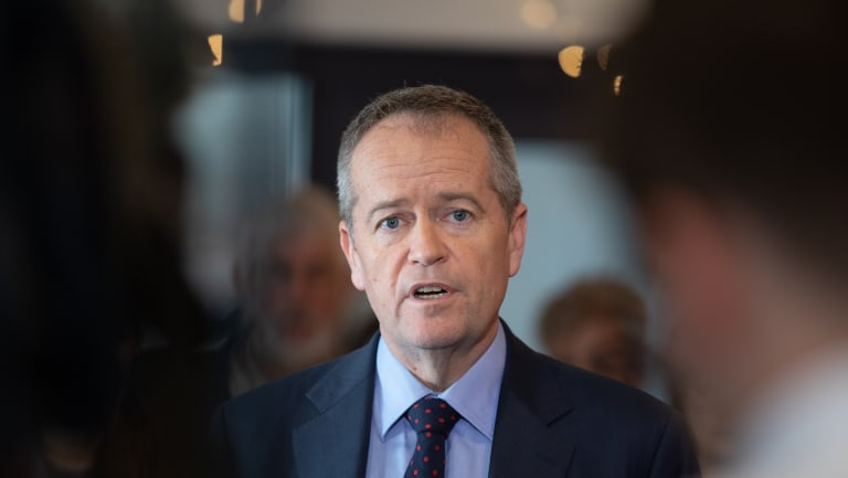 Another problem for Shorten is his own erratic leadership.