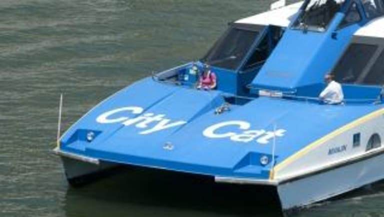 A further $4.5 million has been budgeted for a new CityCat which would take the current fleet to 22 vessels.
