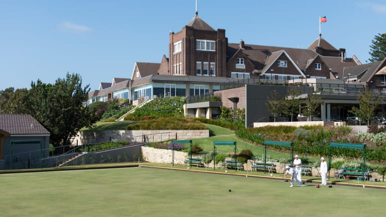 Meeting place for the elite: The Royal Sydney Golf Club