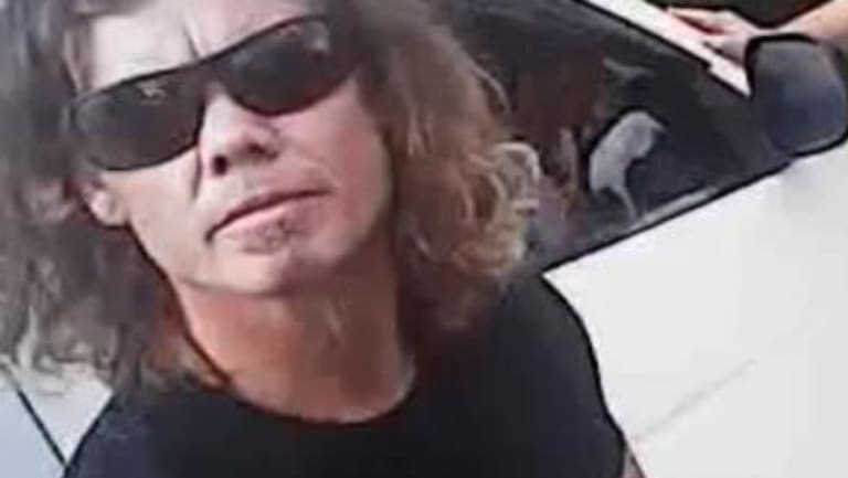 Police are appealing for anyone who witnessed Keven De Vroom assaulting the officer to contact Policelink on 131 444.