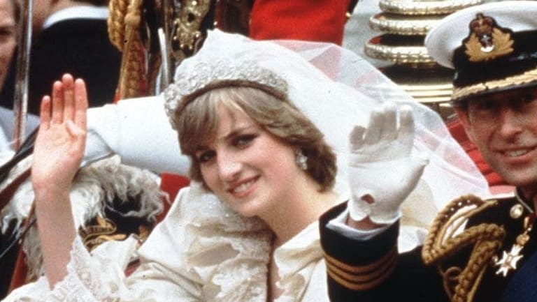Prince Charles and Diana in 1981.