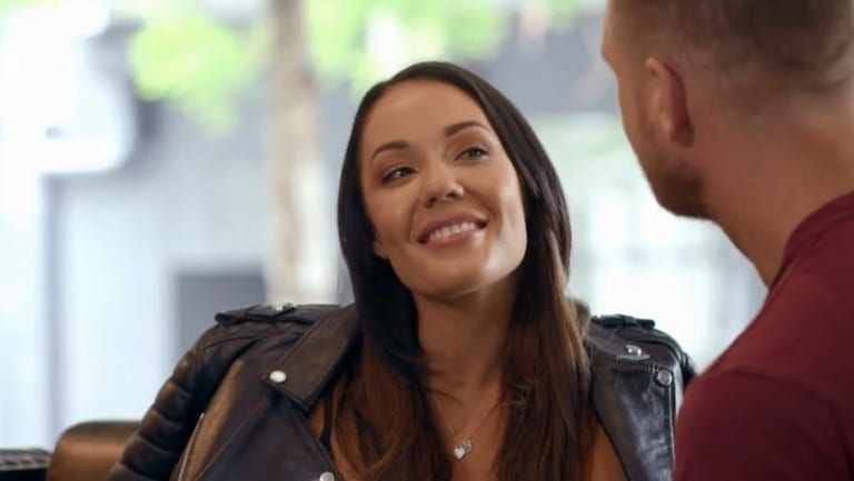 Davina flirts with Dean during Married at First Sight's controversial cheating scandal.