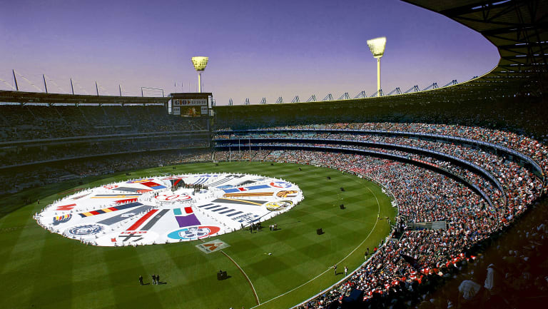 Digitally altered image: A twilight grand final at the MCG?