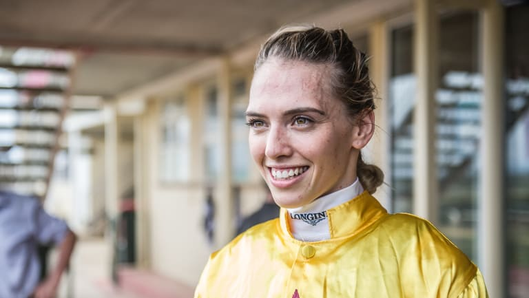 Kayla Nisbet is unbeaten on Gentle Annie so far and will ride her again on Sunday.
