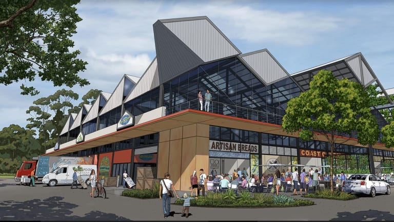 The Big Pineapple on the Sunshine Coast proposed new centres where local food producers can market their foods.