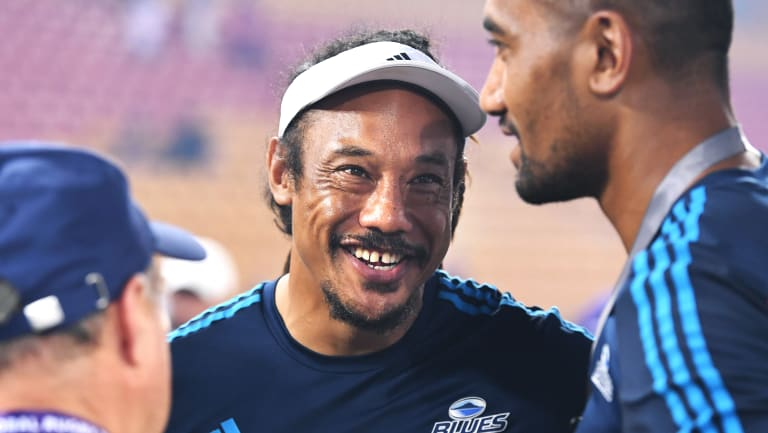 Stand by your man: The Auckland-based Blues are sticking with Tana Umaga despite their struggles.