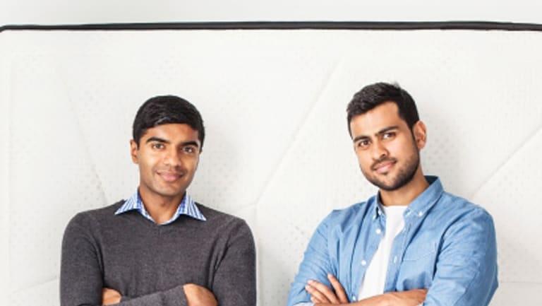 Sleeping Duck founders Selvam Sinnappan (left) and Winston Wijeyeratne.