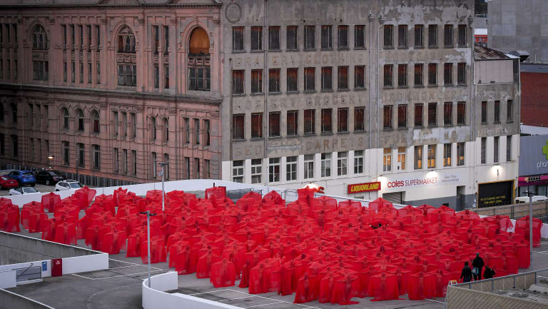 Melbourne 4 2018, by Spencer Tunick - ABC News (Australian